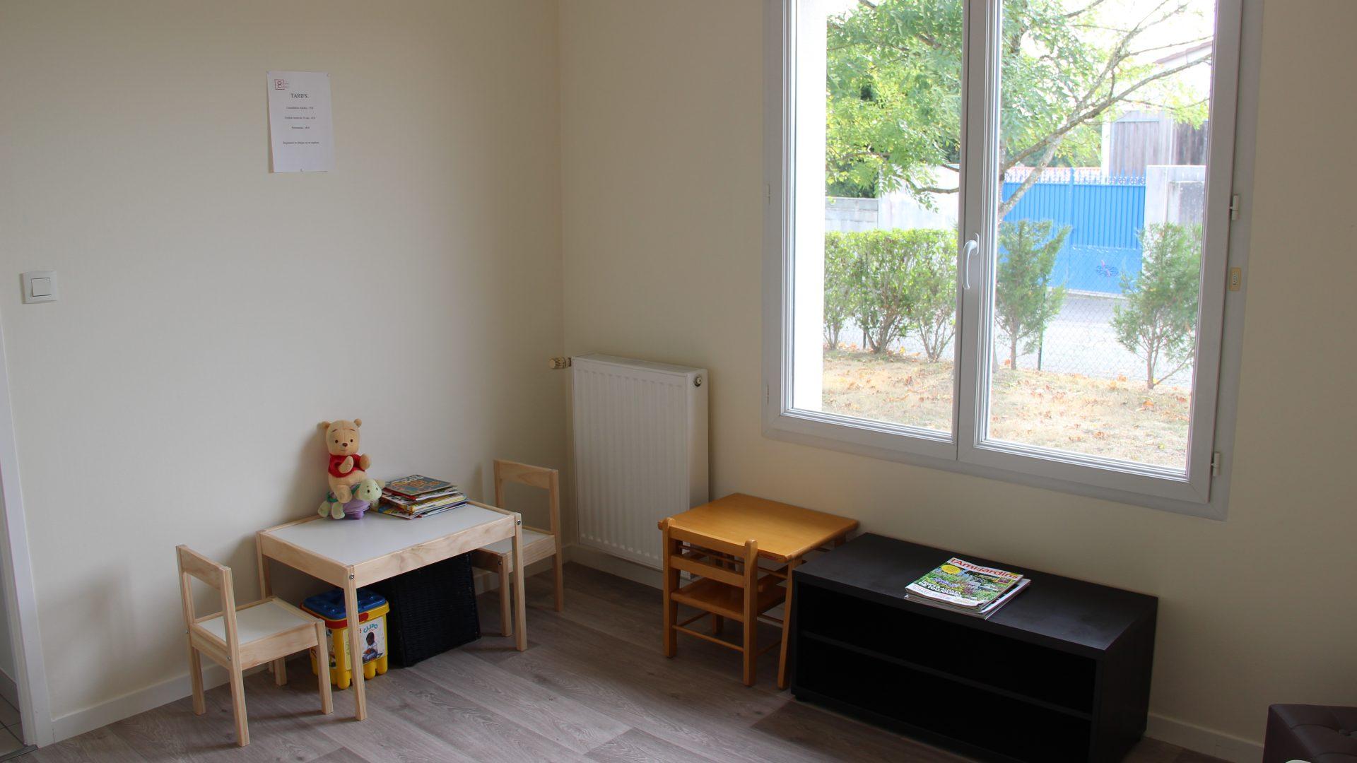 Salle d'attente - Coin enfants